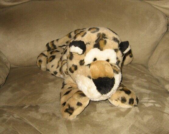 """Cute 16"""" Bean Plush Cheetah Wild Animal Buddy Pal"""