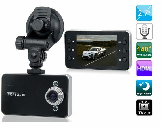 Vehicle Blackbox DVR with Super Clear Display Car DVR