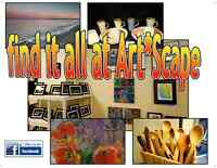 Art*Scape Gallery, Winnipeg Beach, Free Prize Draw of Art