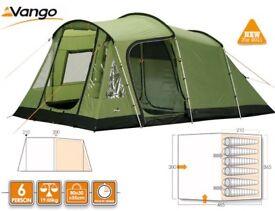 Vango Calisto 600 - with vango carpet