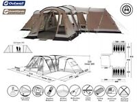 Outwell Maryland XL Tent and extended porch, carpet and extras