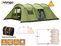Vango Samara 600 - Large Family Tent