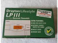 Drayton LP111 24 HR Electronic Programmer Timeswitch