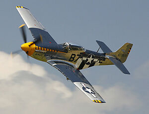 1/7 Scale P-51 Mustang Plans and Templates