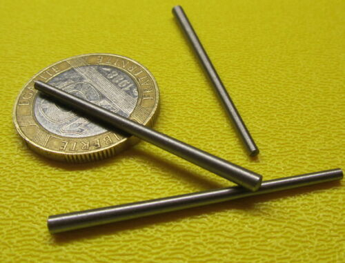"Steel Taper Pins No. 5/0 .094 Large End x .063 Small End x 1 1/2"" Long, 50 Pcs"