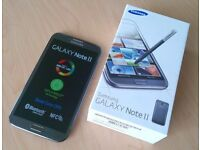 Samsung Galaxy Note 2 Titanium Grey Unlocked Excellent Condition