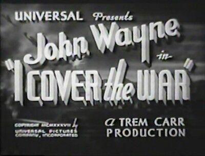 I COVER THE WAR 1937 John Wayne, Gwen Gaze for sale  State College
