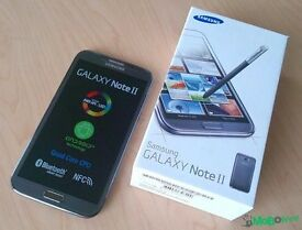Samsung Galaxy Note II Black (Unlocled)