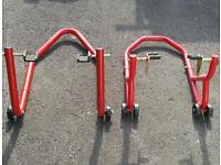 Paddock stands
