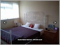 Spacious double bedrooms, Grays (RM17)