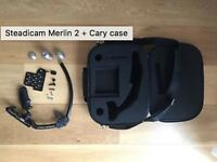 Steadicam Merlin 2 + Cary case