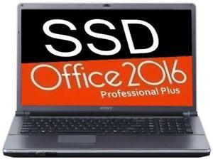 SONY Vaio Ecran 18.4 inch / SSD_3ans Garantie / Office 2016 PRO+
