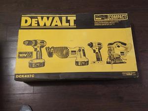 DeWalt DCK437C 4 Piece Cordless Combo Kit