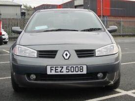 Renault megane 2005 1.4 16v petrol
