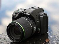 Pentax K-70 Camera + 18-135mm WR + 50mm F1.8 Lens ALL BRAND NEW