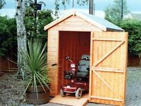 Mobility Apex Tongue & Groove Garden Shed All Sizes From £520 Inc Delivery & Erection 0161 962 9127