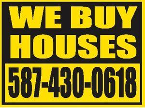 """WE BUY HOUSES """"AS IS"""""""
