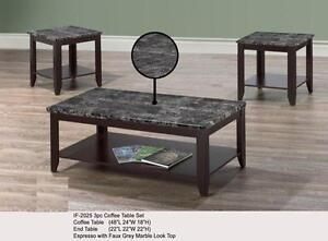 LORD SELKIRK FURNITURE  3PC COFFEE TABLE SET  $189.00
