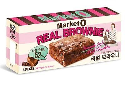 Market O Real Brownie Korean Snack Chocolate Brownie
