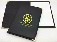 Office Customized Leather Folders