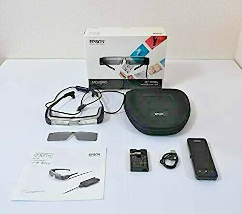 Epson MOVERIO BT-200AV See-Through Smart Glass Android Bluetooth Wi-Fi GPS