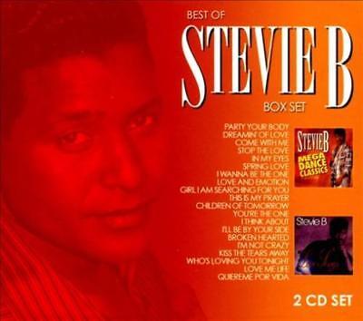 STEVIE B - BEST OF STEVIE B: MEGA DANCE CLASSIC/LOVE SONGS NEW