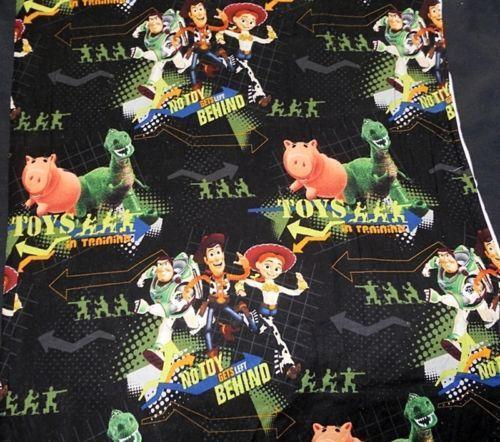 Disney Toy Story Fabric Ebay