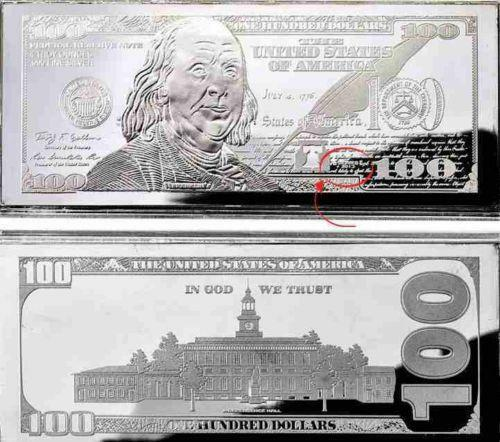 100 Franklin Silver Bar Ebay