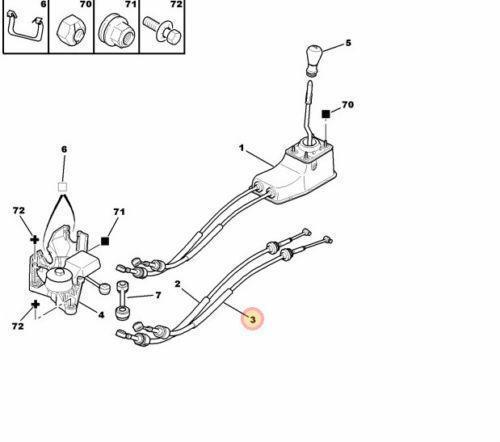 peugeot 206 gear linkage