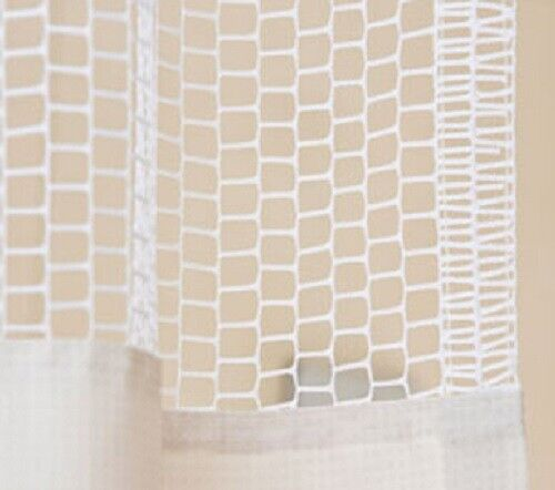 Curtain White Ivory Inpro Privacy Systems HOSPITAL CLINIC LAB Mesh Curtains -WE0