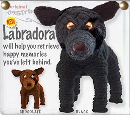 Kamibashi Labradora Labrador Retriever Dog Original String Doll Keychain Clip