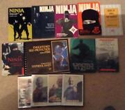 Martial Arts Book Lot