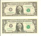 $1 2014 US Federal Reserve Small Notes