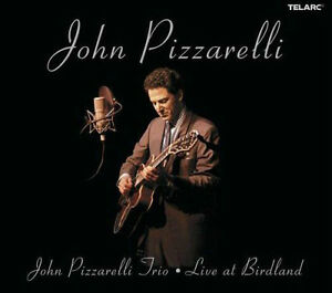 John Pizzarelli Trio-Live At Birdland-2 cd set-Excellent shape!