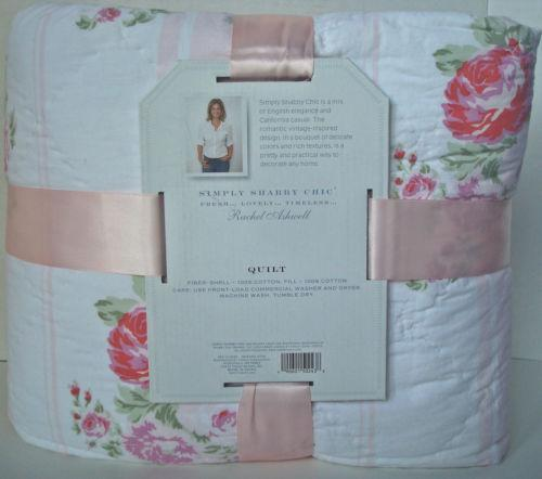 simply shabby chic quilt ebay. Black Bedroom Furniture Sets. Home Design Ideas