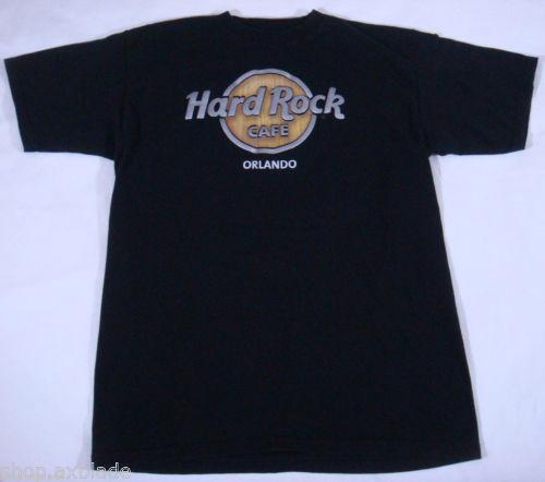 hard rock cafe t shirts orlando ebay. Black Bedroom Furniture Sets. Home Design Ideas
