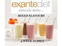 EXANTE DIET 84 Shakes. Meal replacement, Mega Mix Mega SALE