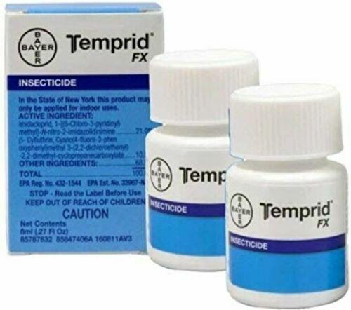 2 Temprid FX Insecticide 8ml Bed Bug Killer Spray Makes1 gallon *SAME DAY SHIP*