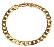 9K Gold Filled Mens Bracelet