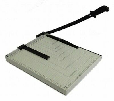 Paper Cutter 18 X 15 Inch Metal Base Trimmer Scrap Booking Guillotine Blade New