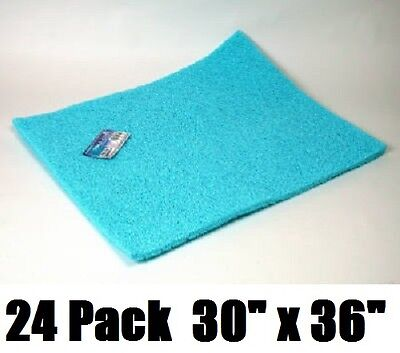 "(24) Dial # 3074 30"" x 36"" Pre-Cut Non Allergenic Evaporative Swamp Cooler Pads"
