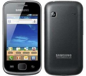 SAMSUNG GALAXY GIO GT-5660M BELL + VIRGIN ANDROID WIFI TOUCH 3G HSPA GSM TOUCHSCREEN CAMERA BLUETOOTH GPS RADIO MICROUSB