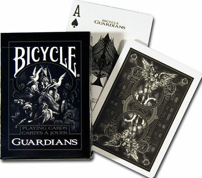 Playing Card Box (1 Deck  Bicycle Guardians Standard Poker Playing Cards Theory 11 New In)