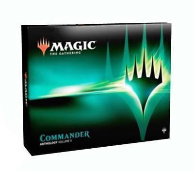 MTG Magic Commander Anthology 2018 Volume 2 set Sealed 4 Decks Box
