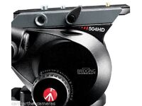 Manfrotto 504HD Pro 75mm Half Bowl Head Variable Fluid Drag System
