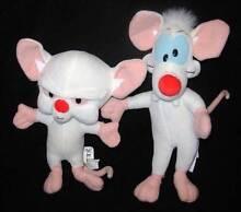 Pinky & The Brain Plush Toys Werrington Penrith Area Preview
