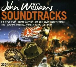 John Williams Soundtracks - 2 x CD Movie Themes - Slipcase - John Williams