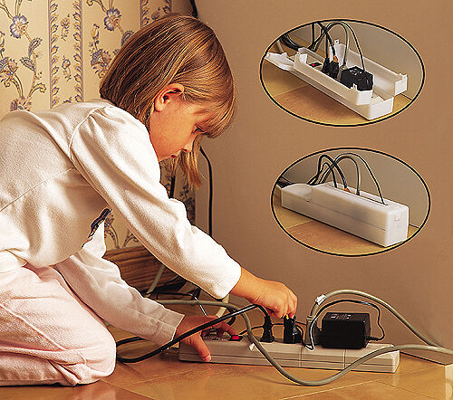 Power Supply Strip Outlet Covers by Mommy