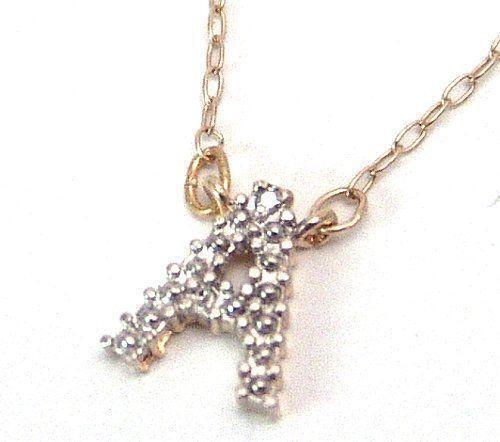Diamond Initial Necklace Ebay
