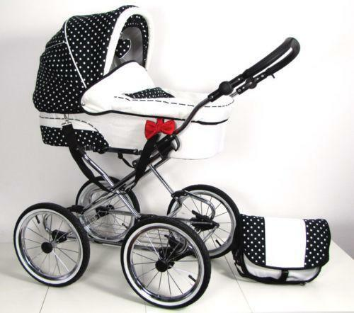 retro kinderwagen g nstig online kaufen bei ebay. Black Bedroom Furniture Sets. Home Design Ideas